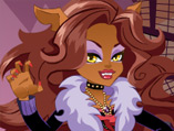Monster High Series: Clawdeen Wolf Dress Up