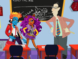 Monster High Classroom Decor