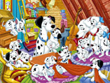 101 Dalmatians Sort My Tiles
