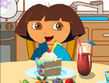Dora The Explorer Dining Table Decor