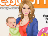 Hilary Duff and Her Baby