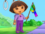 Dora's Fantastic Gymnastics Adventure