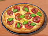 Sara's Cooking Class: Pizza Tricolor