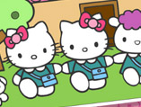 Hello Kitty Back To School Coloring