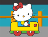 Hello Kitty Collect the Gifts Driving