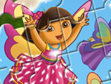 Dora The Explorer Puzzle Book