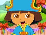 Cute Dora the Explorer Dress Up