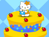 Hello Kitty Fruitilicious Cake Decor
