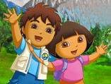 Dora & Diego Fishing
