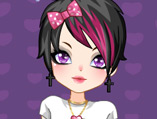 Emo Sweetheart Dress Up Game
