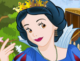 Snow White Hair Salon Makeover