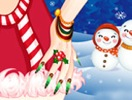 Nails for Santa Party