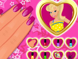 Barbie Princess Nails Makeover