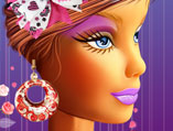 Barbie Fashion Makeover With Earrings