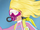 Barbie Scuba Diving
