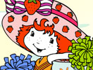 Strawberry Shortcake Cheerleader Coloring