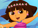 Cute Dora Mermaid Dress Up