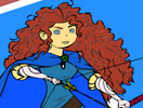 Princess Merida Coloring