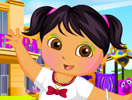 Dora School Day Dressup