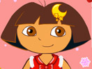 Dora Christmas Pretty Dress Up