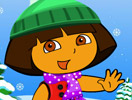 Dora & Boots Winter Dressup
