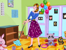 Nanny Nursery Clean Up