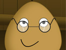 Pou Wearing Glasses