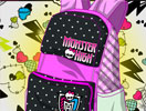 Back to School Monster High Bag Design