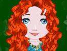Baby Merida Hairdresser