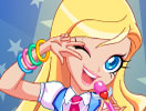 Lolirock-Iris Dress Up Game