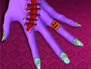 Spooky Nails Halloween Manicure