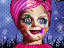 Annabelle Spooky Halloween Makeover