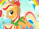 Rainbow Power Applejack