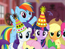 Party at Fynsy's: Celebrating With Ponies