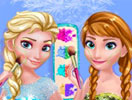Frozen Prom Make-Up Design