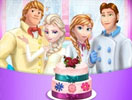 Frozen Family Wedding Cake