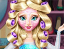 Elsa Frozen Makeover