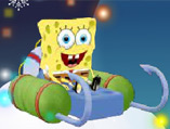 Spongebob 3d Snow Kart Rally