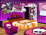 Monster High Fan Room Decoration