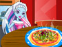 Monster High Pizza Deco at Cooking