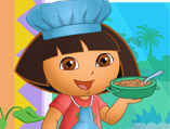 Dora The Cook Dress Up