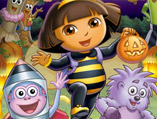 Halloween Dora - Arrange the Pieces