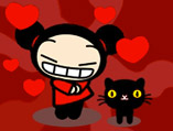 Pucca Kiss to Garu