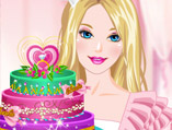 Barbie's Diamond Cake