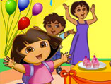 Dora's New Year Celebration Decor