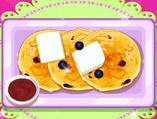 Make Blueberry Pancakes