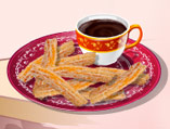 Sara's Cooking Class: Chocolate Churros