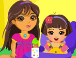 Dora Baby Sitter