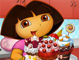 Dora Tasty Cupcakes