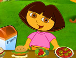 Dora Food Serving